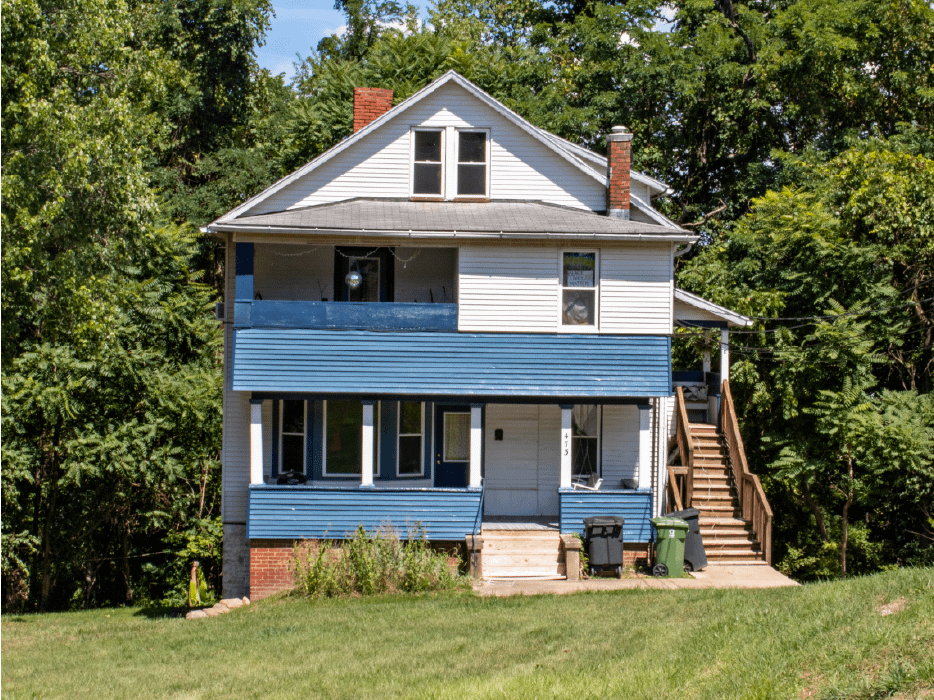 outside view of house