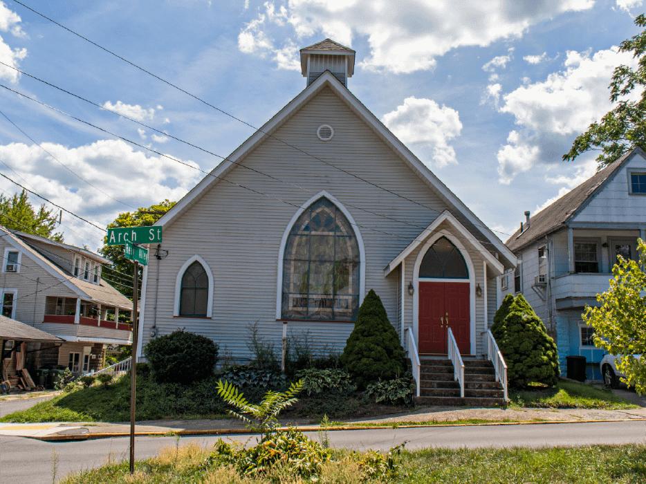Arch church