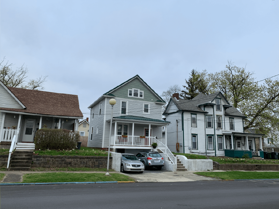 outside view of 312 Green Street