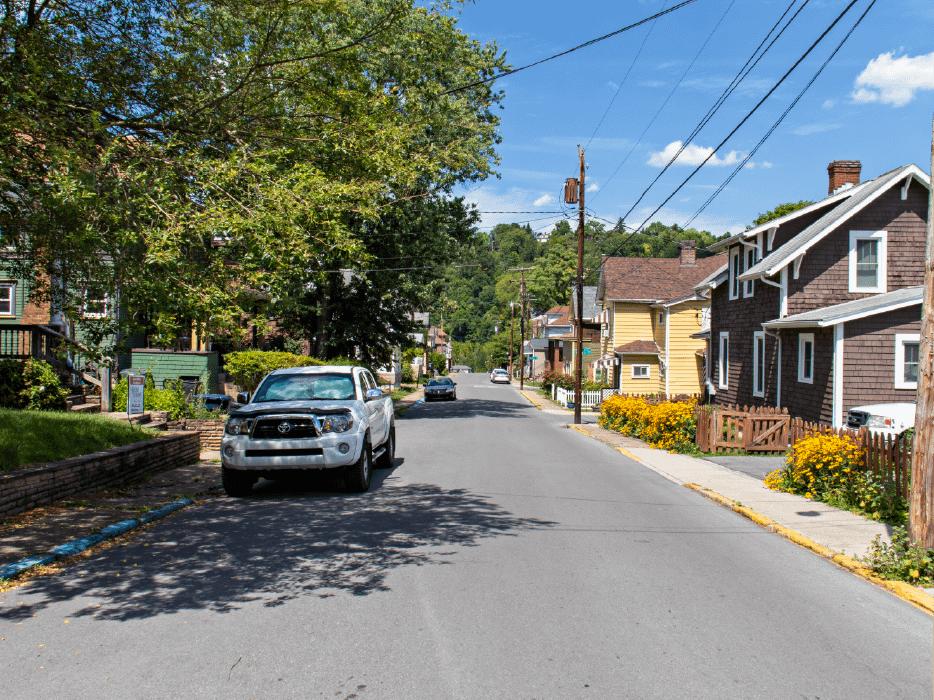 Street view of Greenmont