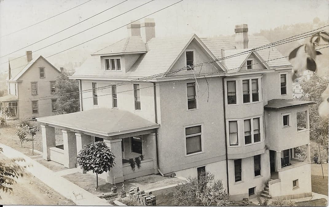 old photo of a house