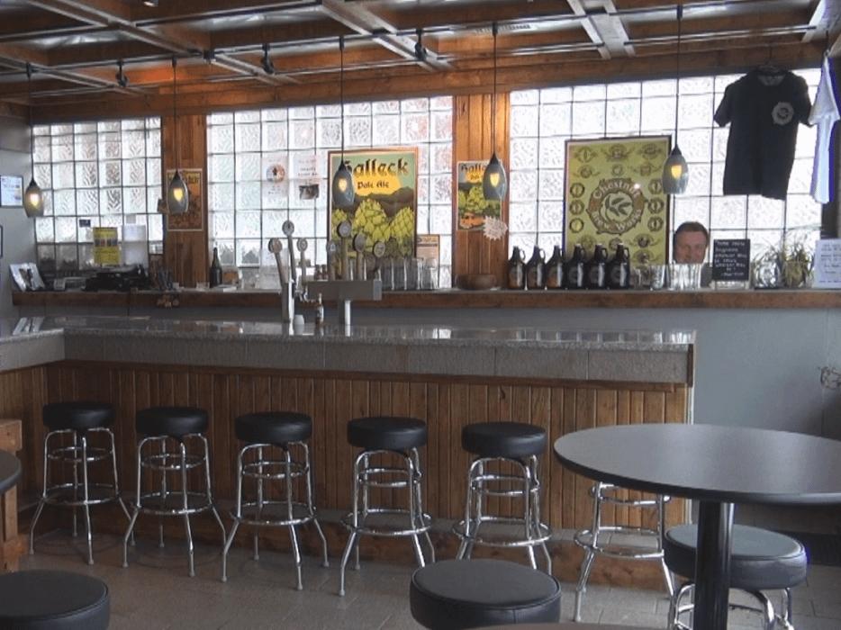 Bar at Chestnut Brew Works